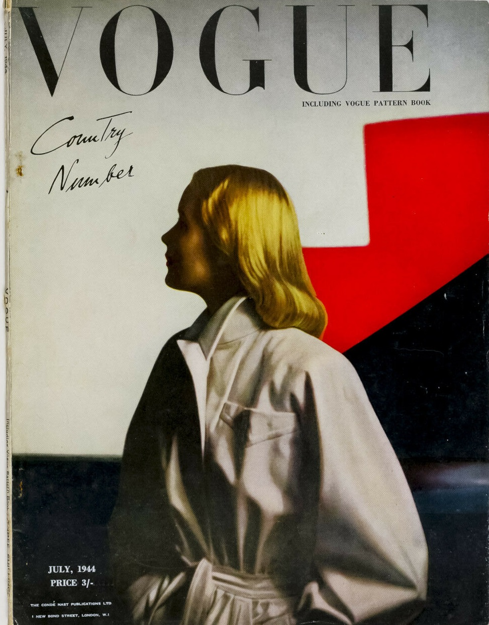 British Vogue Cover July 1944