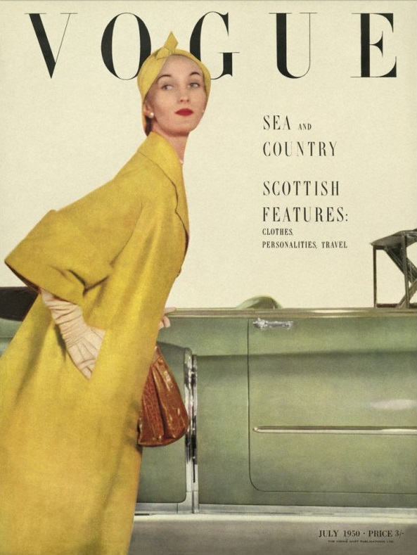 British Vogue Cover July 1950
