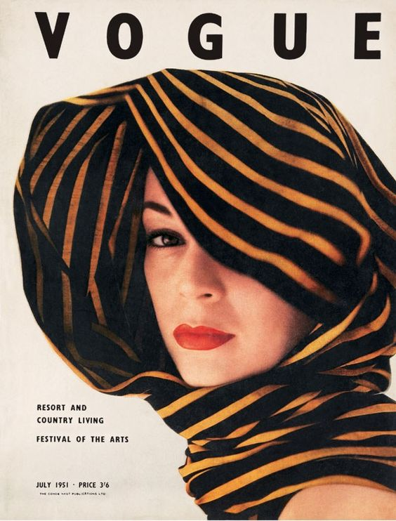 British Vogue Cover July 1951