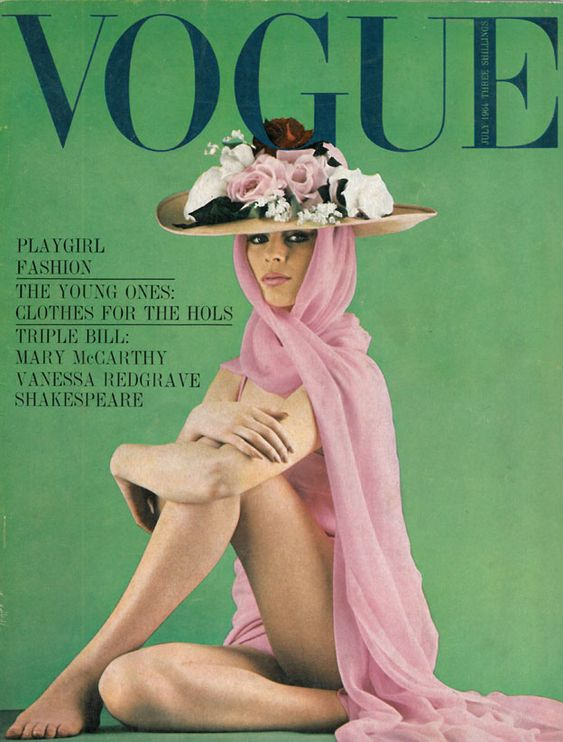 British Vogue Cover July 1964
