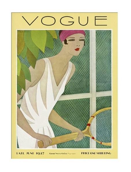 British Vogue Cover June 1927