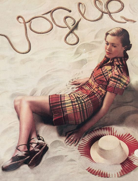 British Vogue Cover June 1934