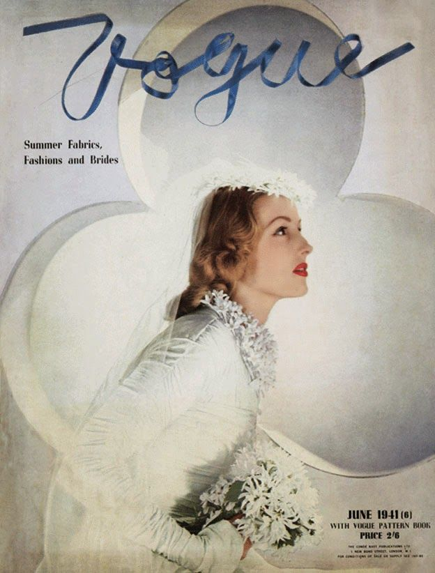 British Vogue Cover June 1941
