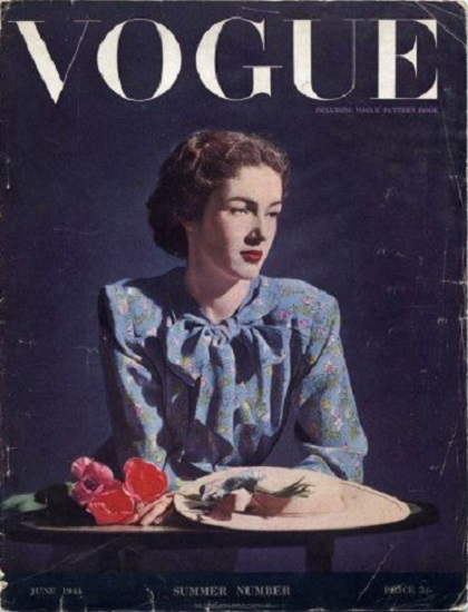 British Vogue Cover June 1944