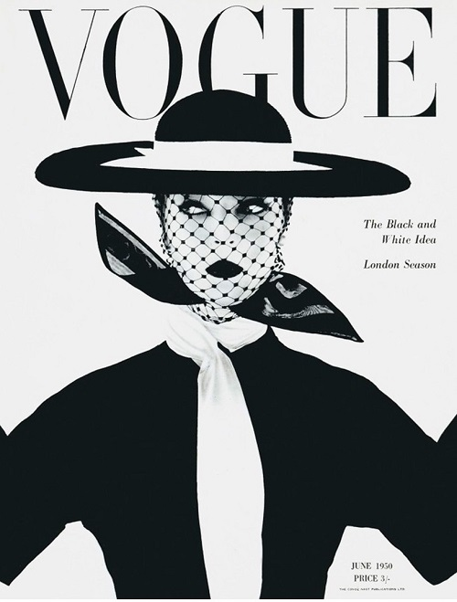 British Vogue Cover June 1950