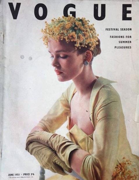 British Vogue Cover June 1951