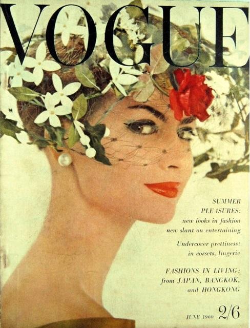 British Vogue Cover June 1960