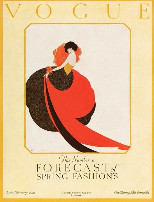 British Vogue Cover March 1921