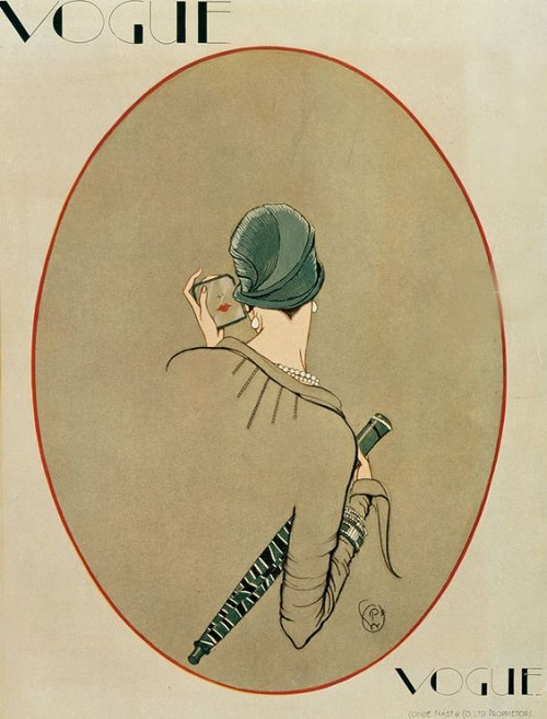 British Vogue Cover March 1926
