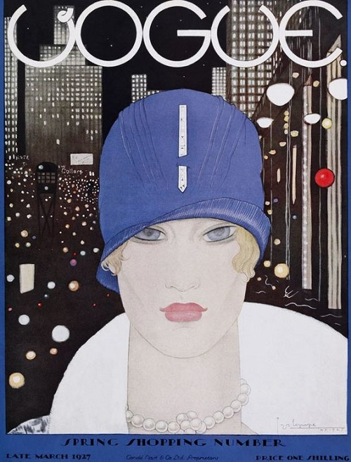 British Vogue Cover March 1927