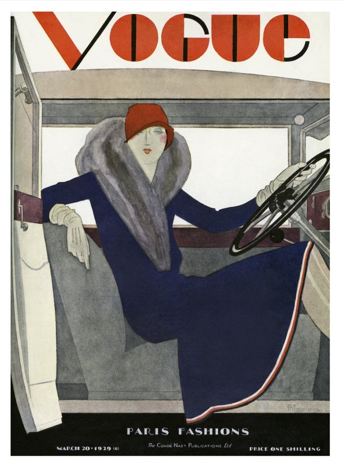 British Vogue Cover March 1929