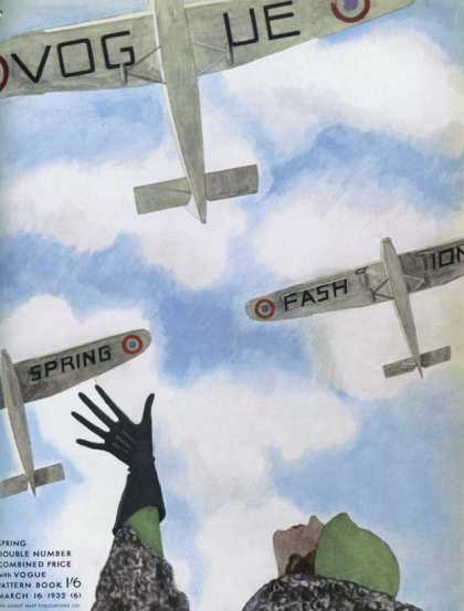 British Vogue Cover March 1932
