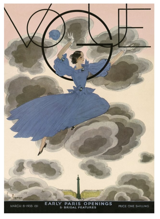 British Vogue Cover March 1933