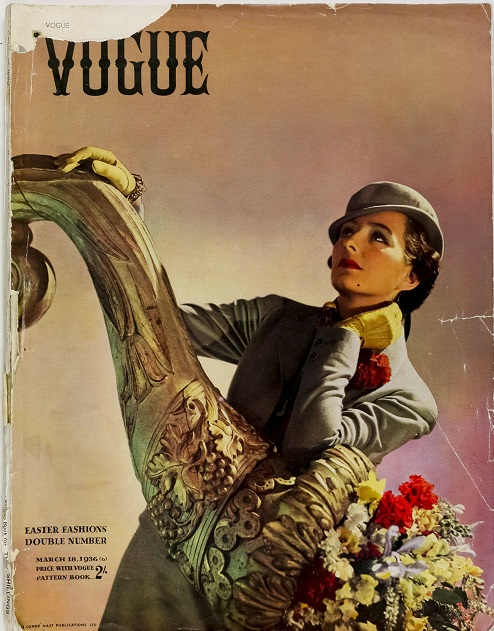 British Vogue Cover March 1936
