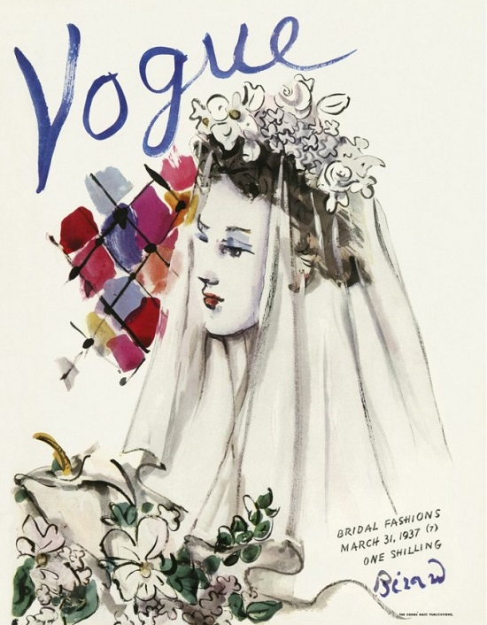 British Vogue Cover March 1937