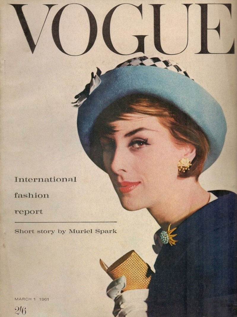 British Vogue Cover March 1961