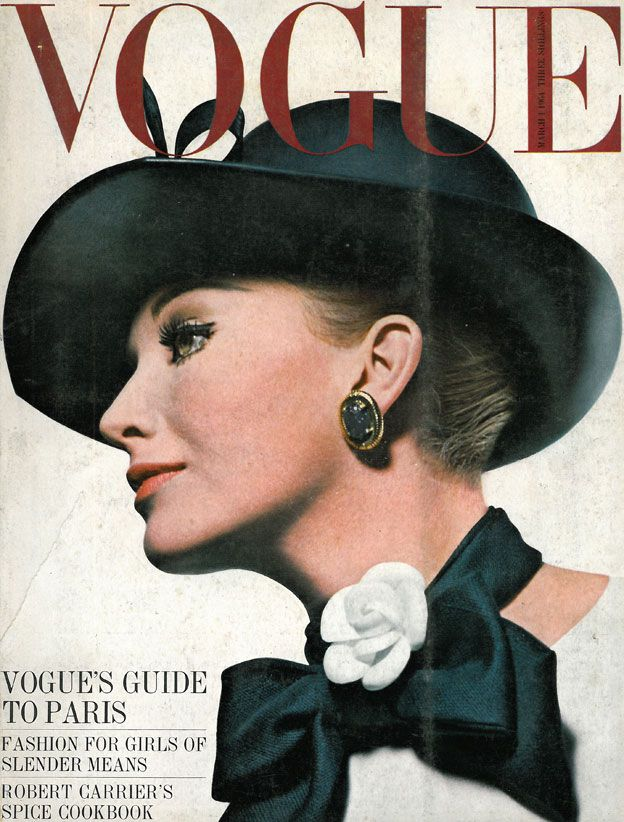 British Vogue Cover March 1964
