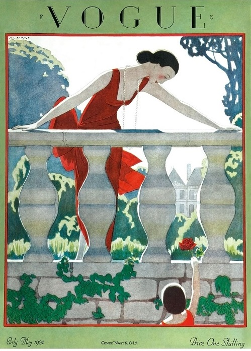 British Vogue Cover May 1924
