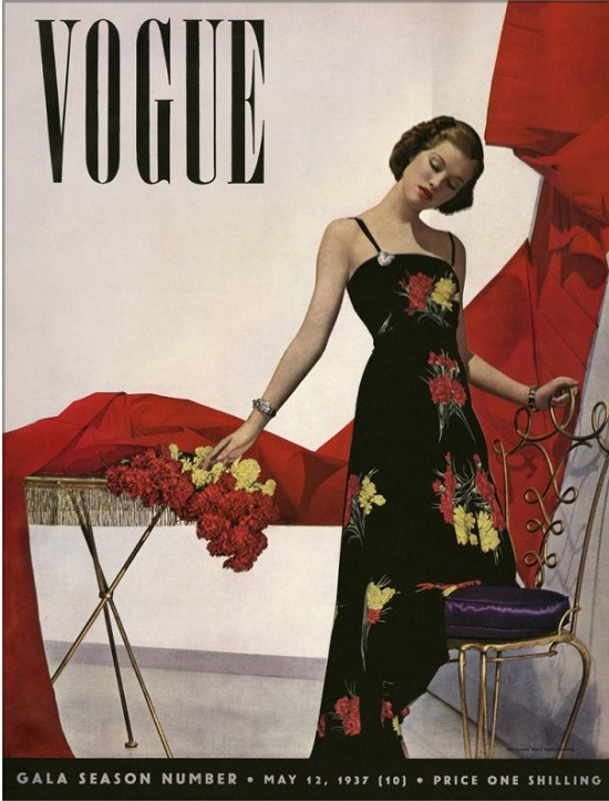 British Vogue Cover May 1937