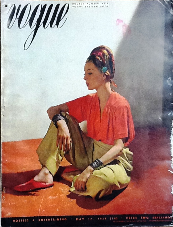 British Vogue Cover May 1939