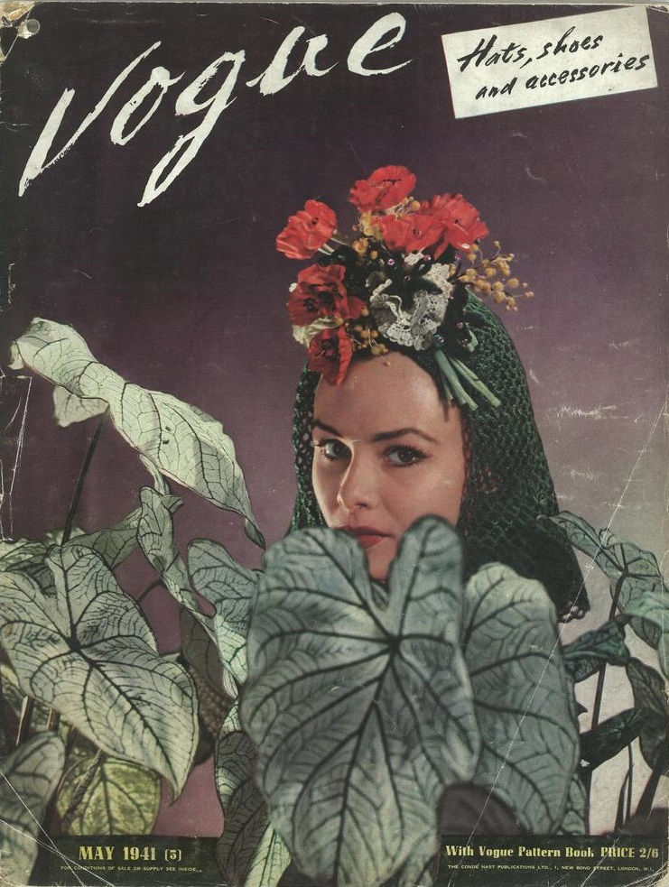 British Vogue Cover May 1941
