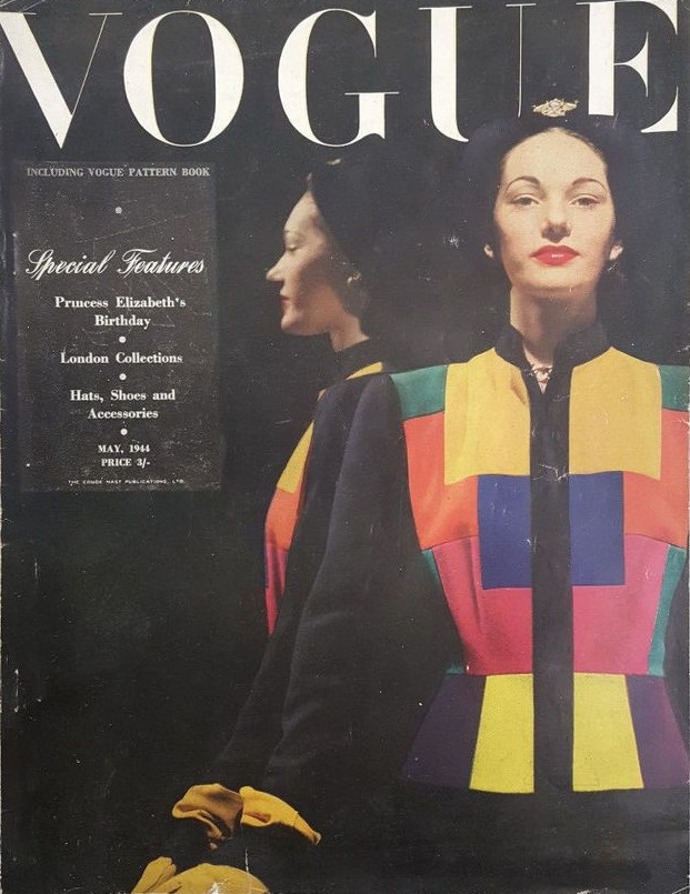 British Vogue Cover May 1944