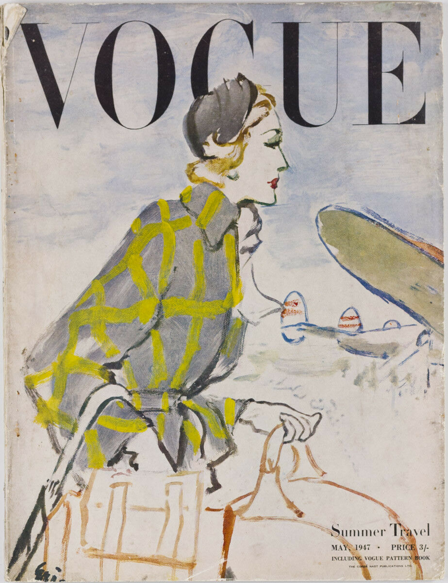 British Vogue Cover May 1947