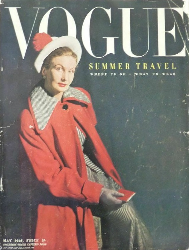 British Vogue Cover May 1948