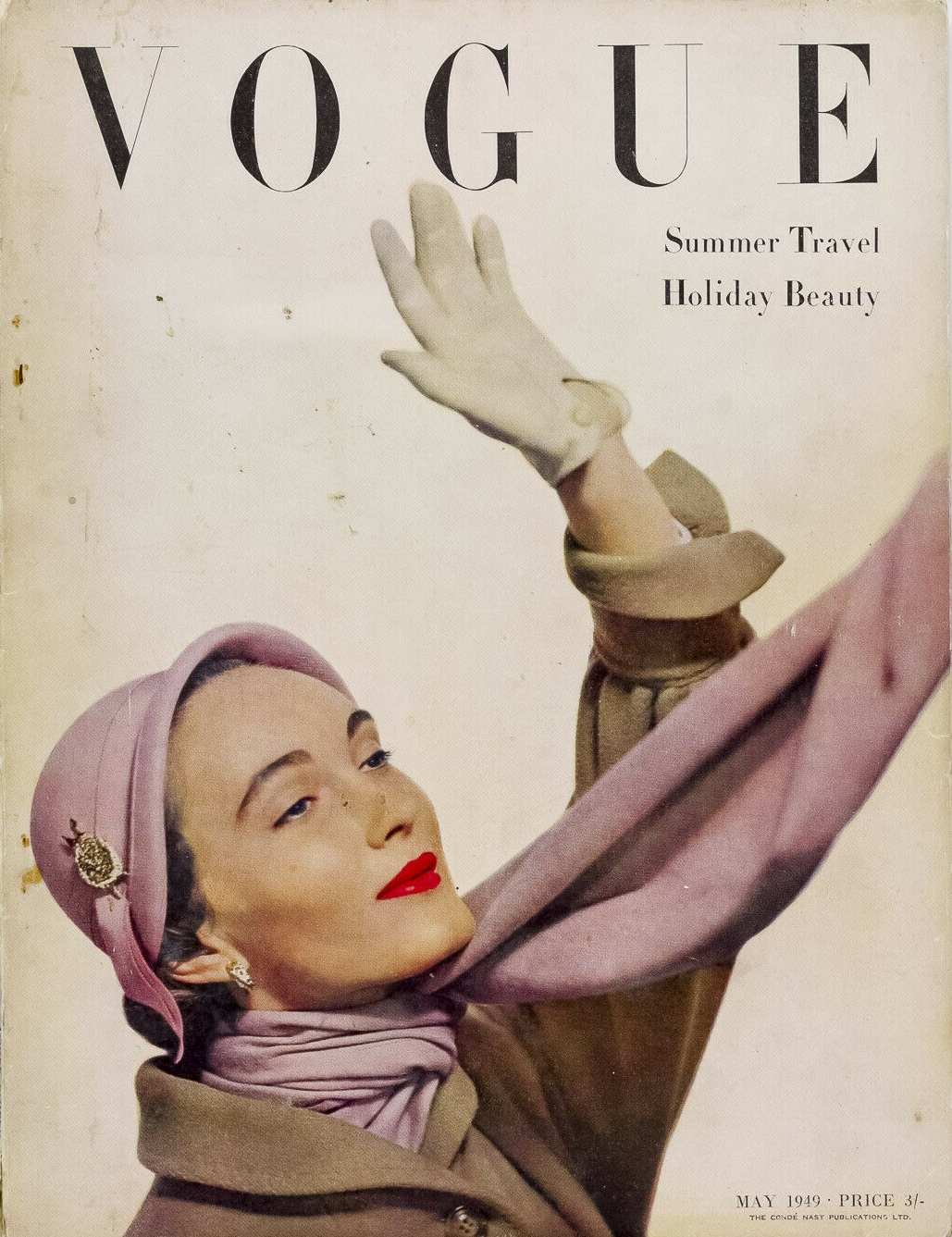 British Vogue Cover May 1949
