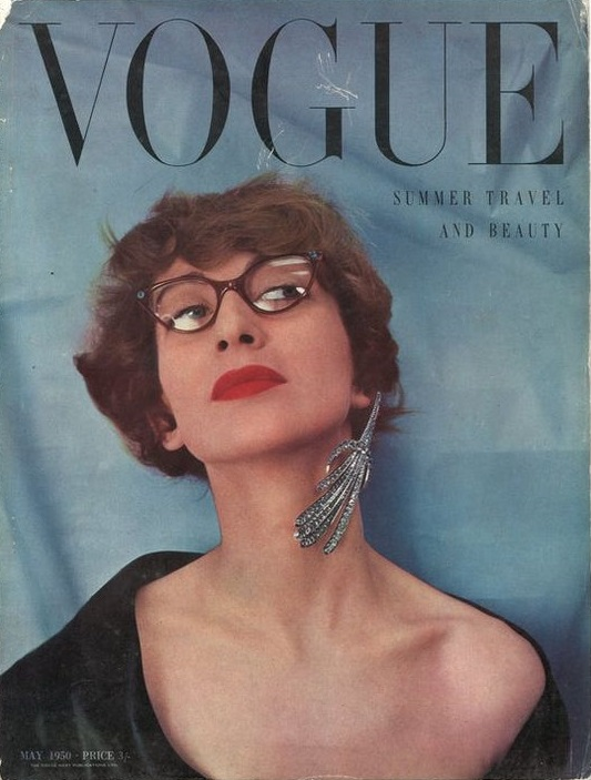 British Vogue Cover May 1950