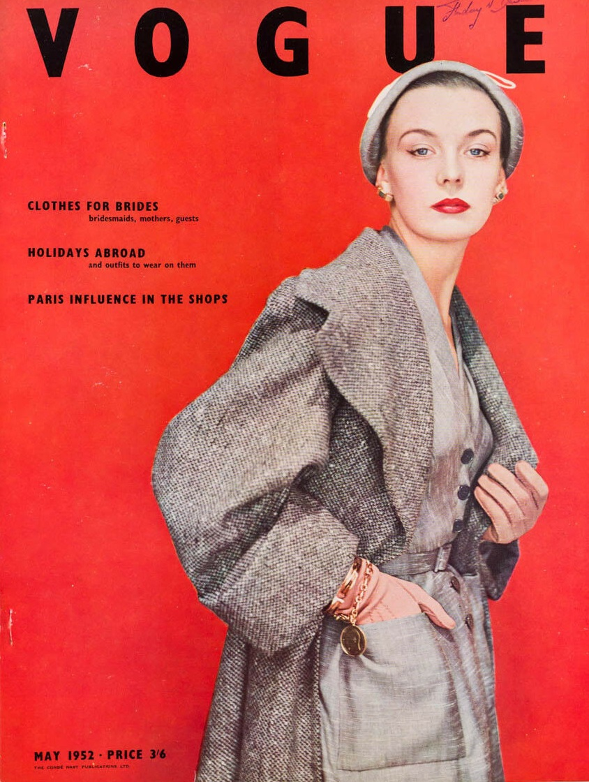 British Vogue Cover May 1952