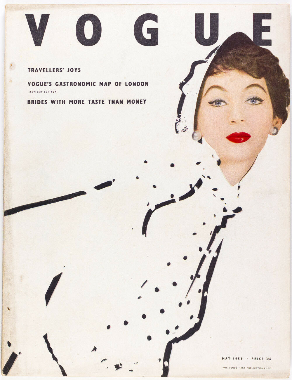 British Vogue Cover May 1953