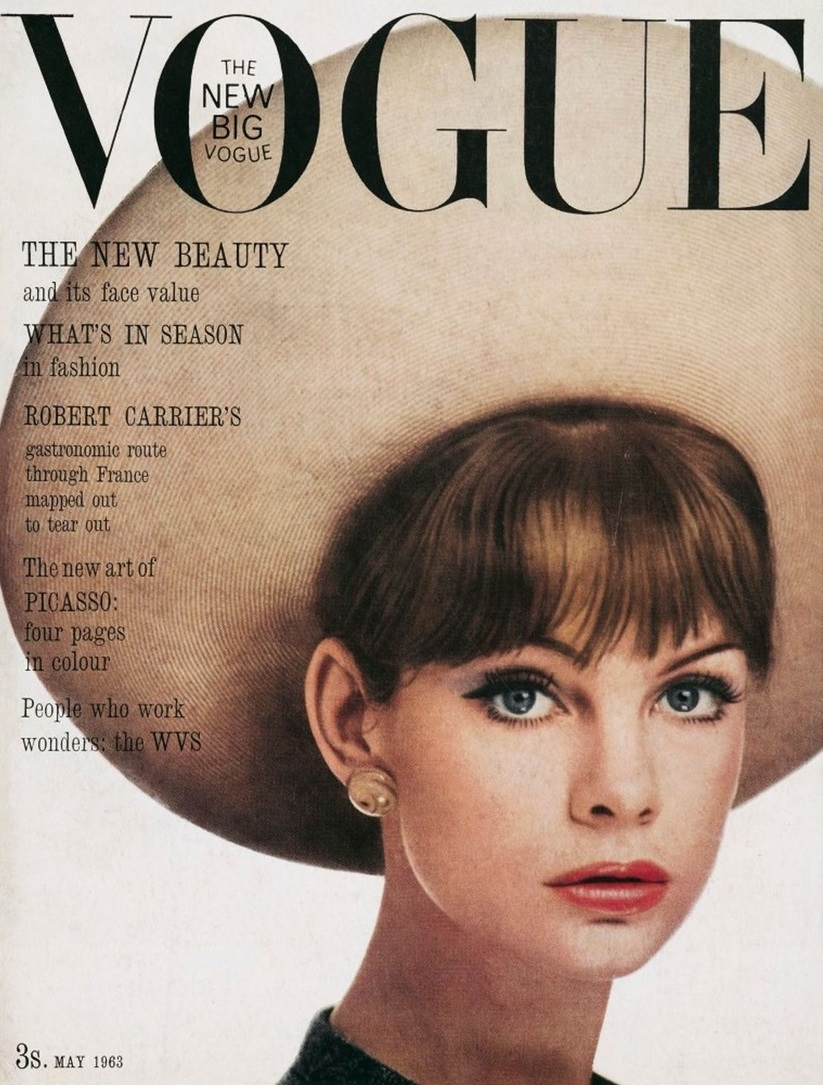 British Vogue Cover May 1963