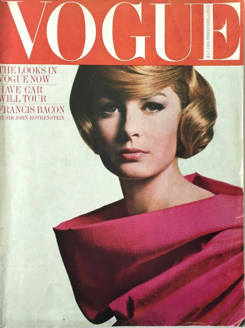 British Vogue Cover May 1965