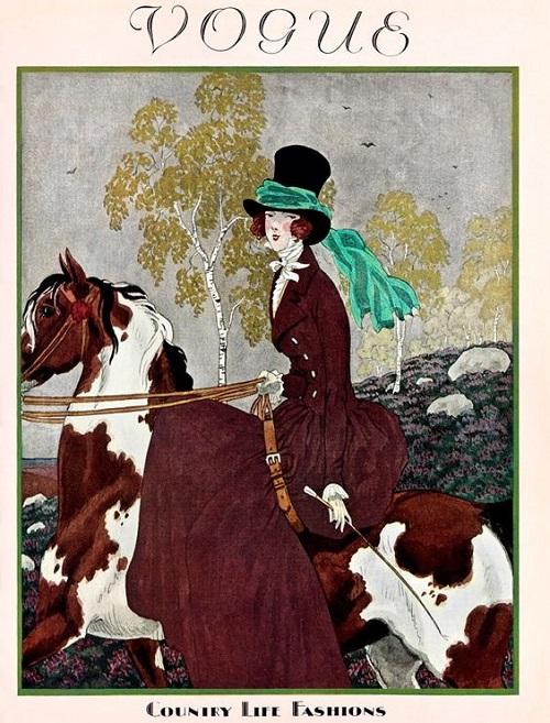 British Vogue Cover November 1927