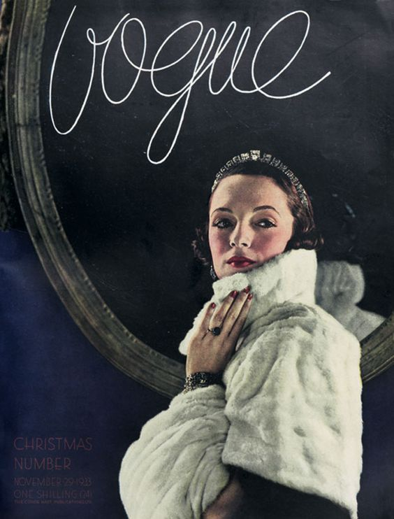 British Vogue Cover November 1933