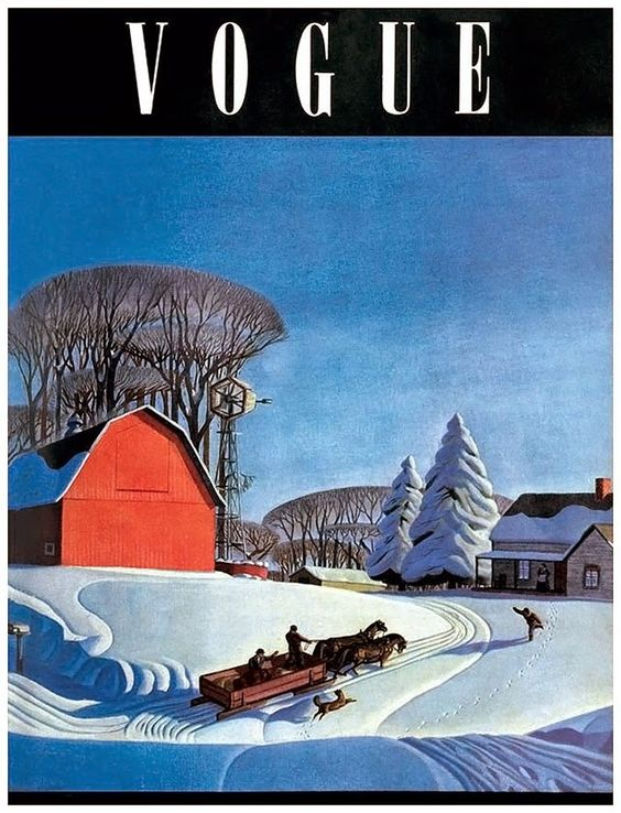 British Vogue Cover November 1938