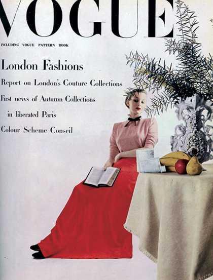 British Vogue Cover November 1944