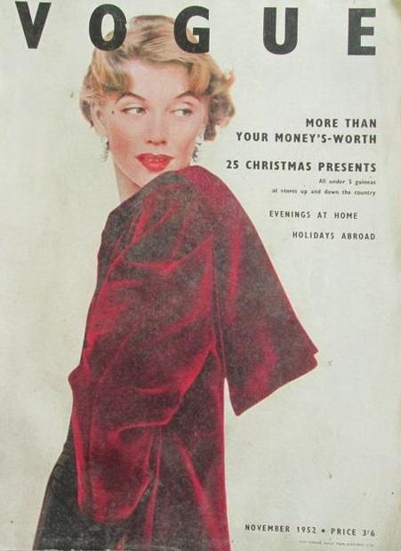 British Vogue Cover November 1952