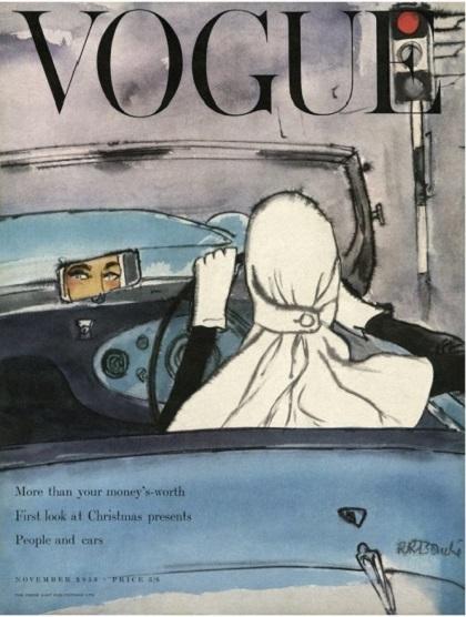 British Vogue Cover November 1953