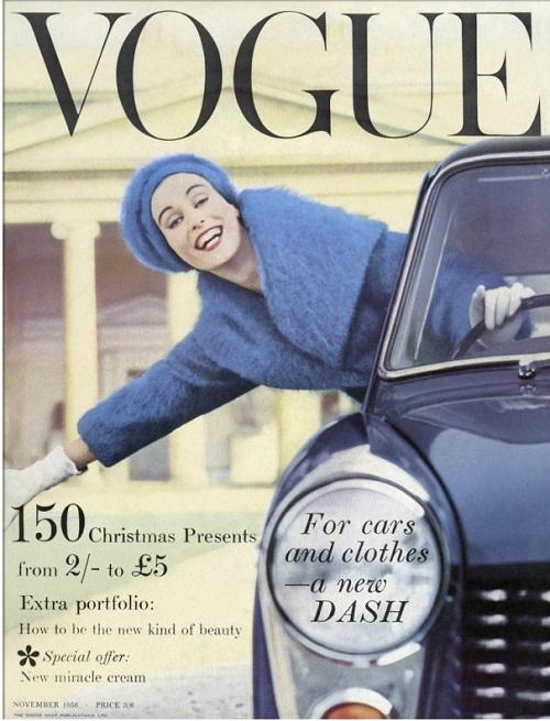 British Vogue Cover November 1958
