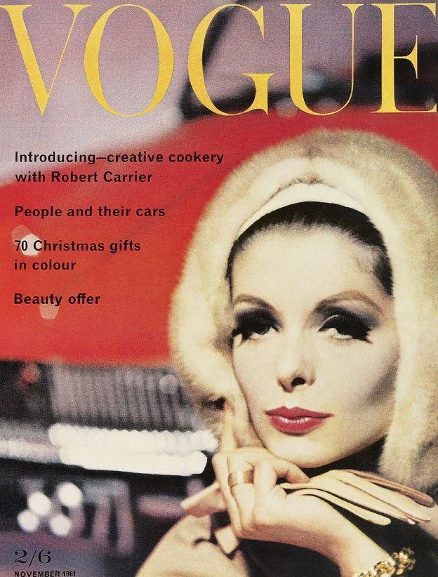 British Vogue Cover November 1961