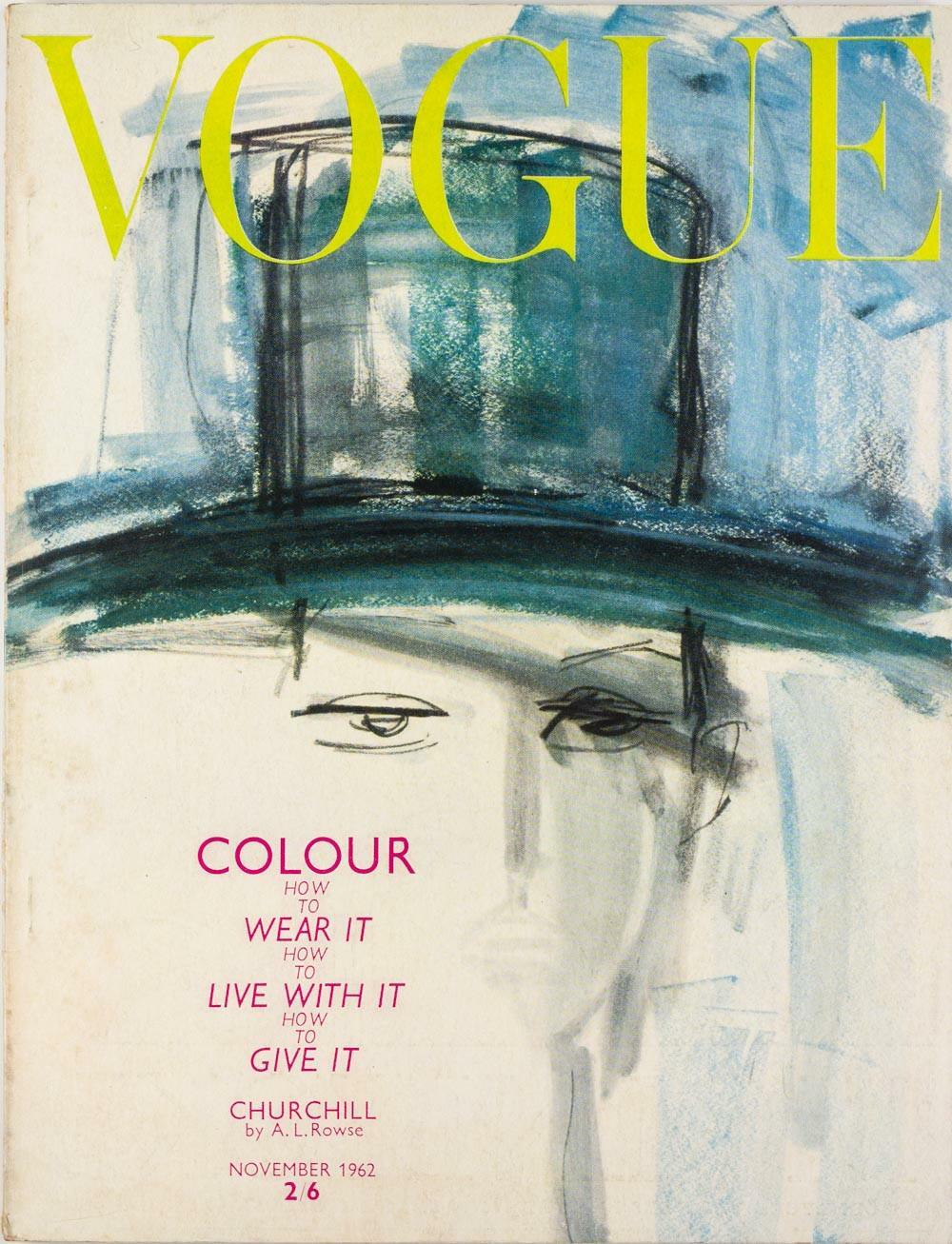 British Vogue Cover November 1962