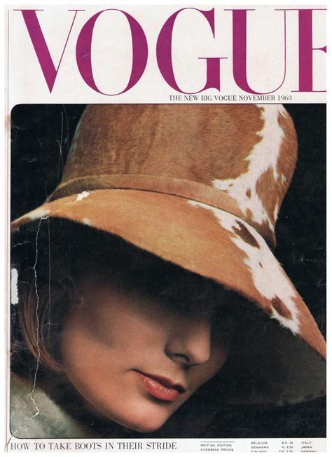 British Vogue Cover November 1963