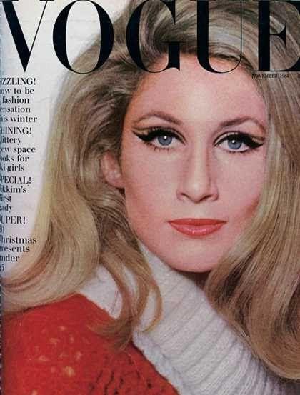 British Vogue Cover November 1964