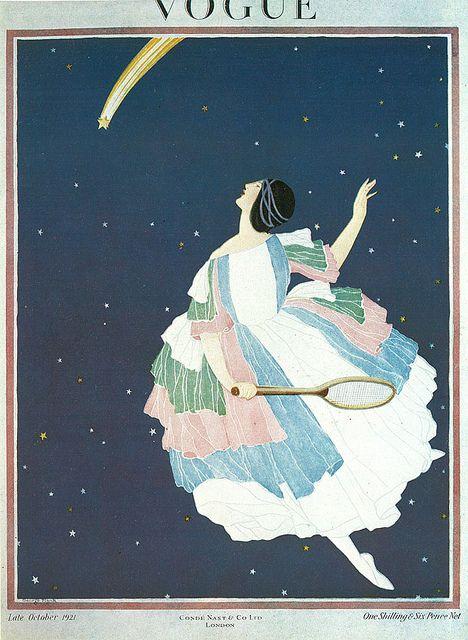 British Vogue Cover October 1921