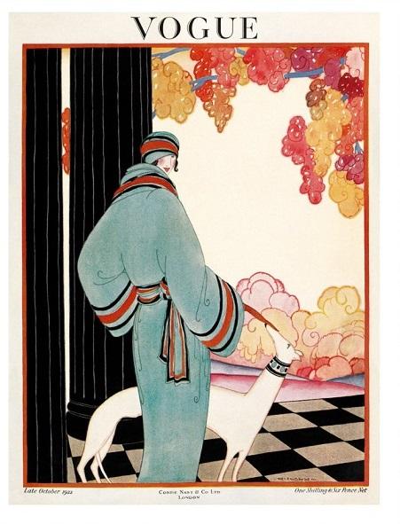 British Vogue Cover October 1922