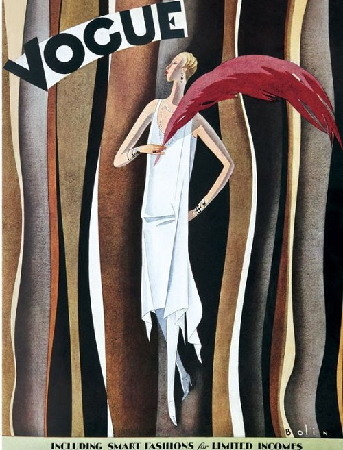 British Vogue Cover October 1927
