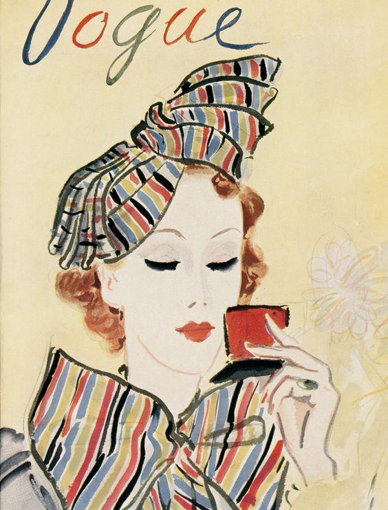 British Vogue Cover October 1935