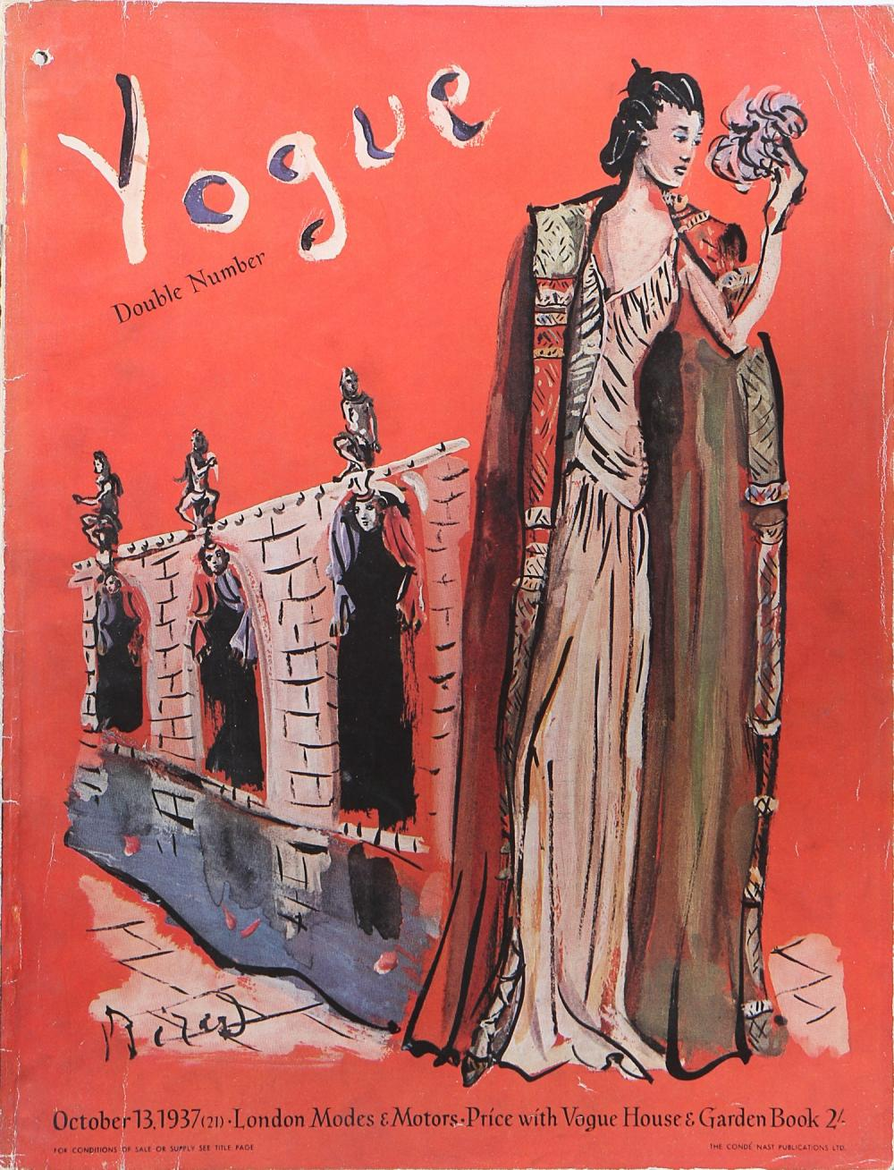British Vogue Cover October 1937